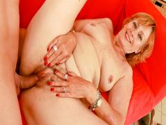 Beautiful british blonde gets her wet horny pussy pounded !