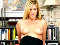Sex Veteran Ginger Lynn sucks and fucks cock like old times