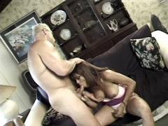 Sexy transsexual whore get fucked hard in her tight ass